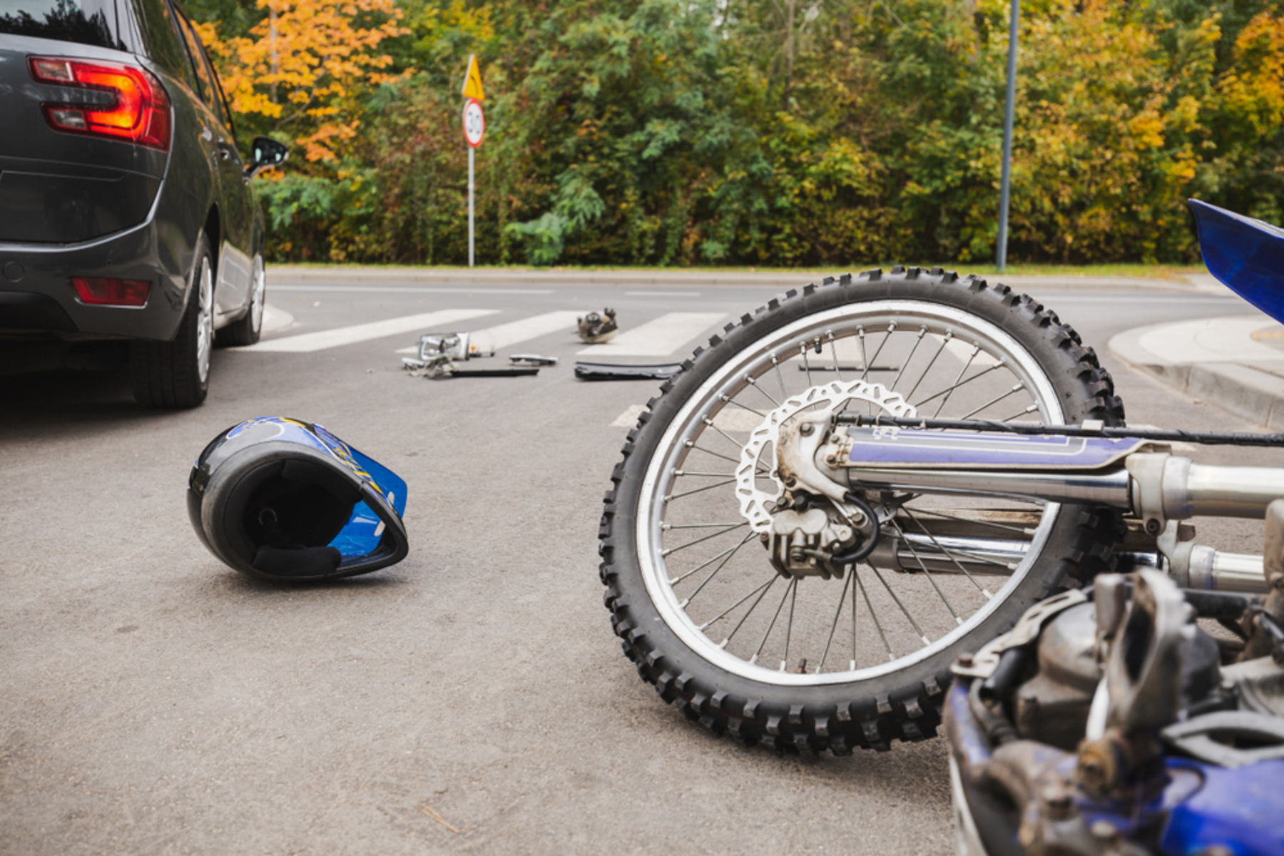 Top 5 Causes for Car and Motorcycle Collisions