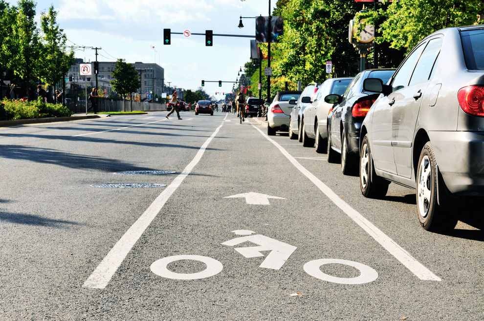 Bike Lane in City - Where You Can Legally Ride on the Road