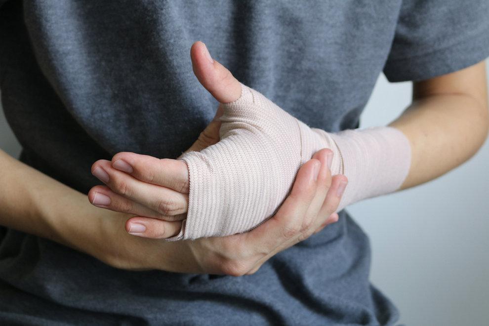 Injury from dog bites